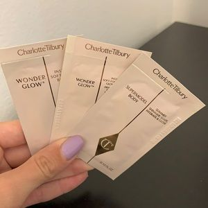 FREE WITH PURCHASE: Charlotte Tilbury Samples